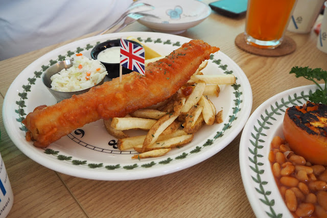 The Plate Big Fish and Chips Review Gamcheon Cultural Village Busan