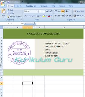 Download Aplikasi Excel Untuk Membuat Cap Stample