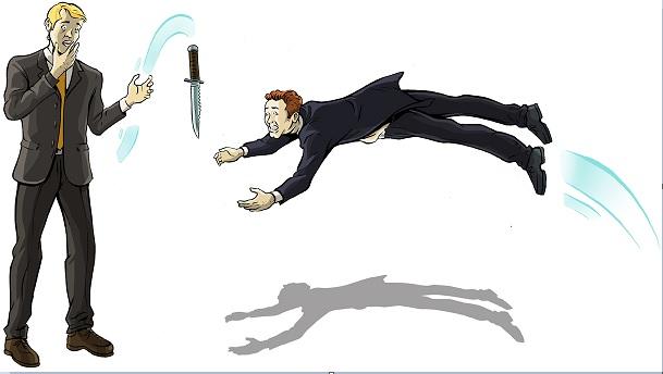 Art of catching falling knives - Nghệ thuật bắt dao rơi - Sol Palha