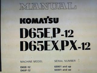 D65E-12 D65p-12 D65EX-12 D65PX-12 Komatsu Shop Manual 1