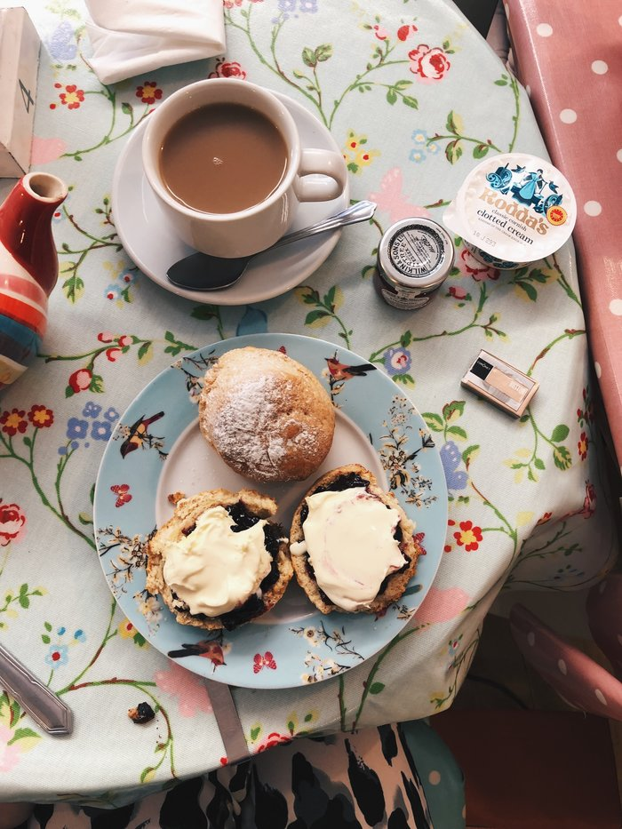 Finding The Best Cream Tea On The South Coast: Peggy May's Cafe, Lyndhurst