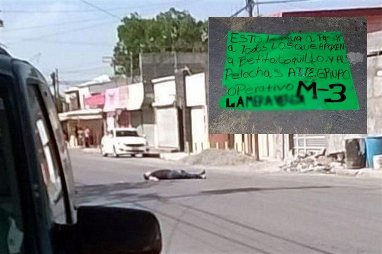 """EL M-3 MANDA CLARO MENSAJE AL COMENDANTE PANILO Y A TODO EL QUE APOYE AL PELOCHAS, SIGUE LA """"PURGA SANGRIENTA"""""""