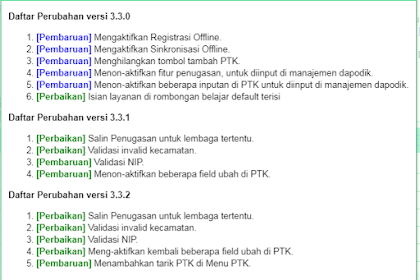 Download Patch Dapodik Paud versi 3.3.2