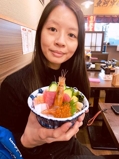 仙台場外市場杜の市場-海鮮丼飯