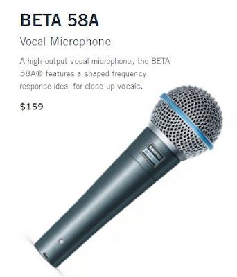 Harga Shure Beta 58A