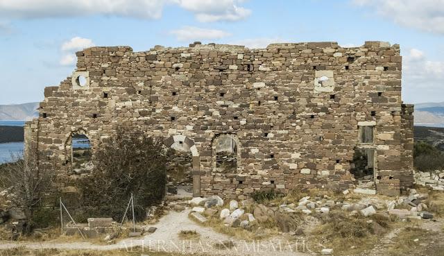 Ruinas de la iglesia de Santa Matrona