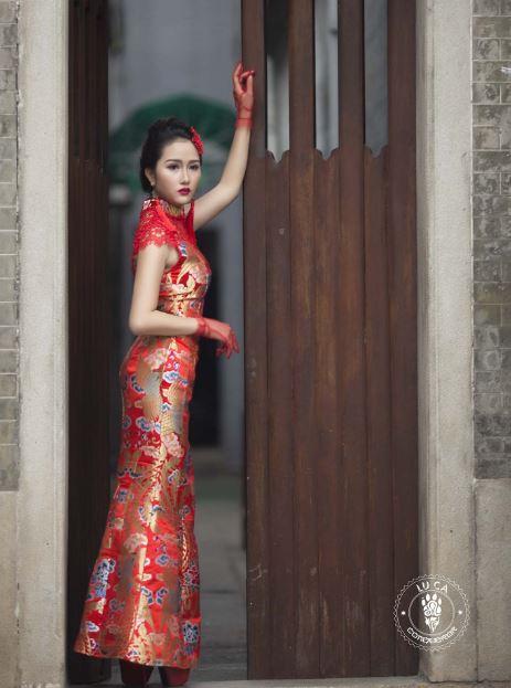 Mary Huynh in Cheongsams Dress