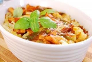 рецепт гарнира тушенная картошка по турецки