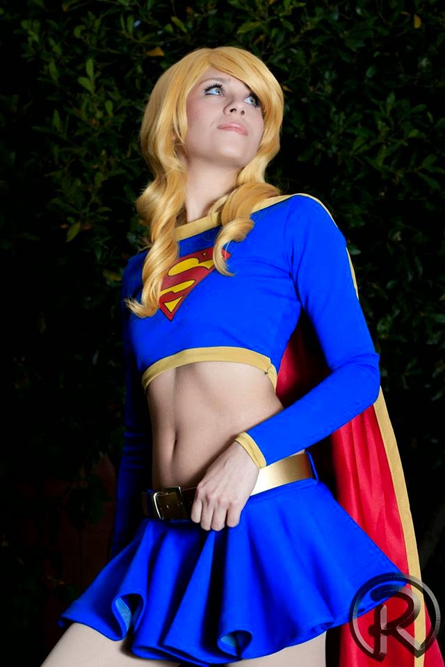 Anti Ai Chan Cosplay - Supergirl