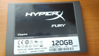 SSD Kingston HyperX FURY 120GB