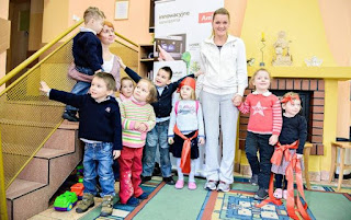 Aga with young kids