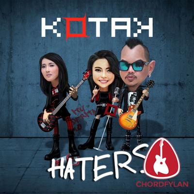 Lirik dan chord Haters - Kotak