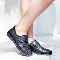 Pantofi dama Piele Mave negri casual