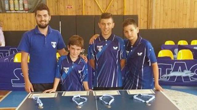Δεύτεροι οι παμπαίδες του Εθνικού Αλεξανδρούπολης στο Πανελλήνιο πρωτάθλημα Πινγκ Πονγκ