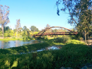 Bridge at Vasona Lake County Park, Los Gatos, California