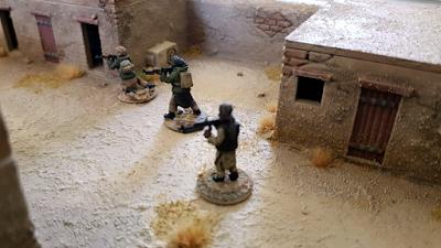 Taliban wargame miniatures
