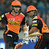 हैदराबाद १५ रनले विजयी