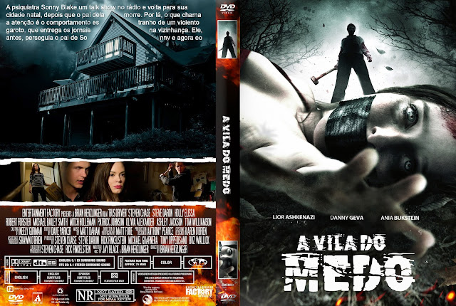 Capa DVD A Vila Do Medo
