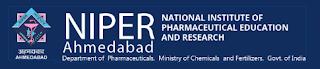 NIPER Ahmedabad Recruitment 2018