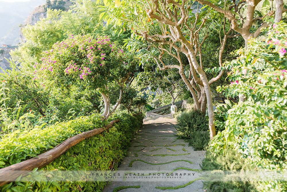 San Pietro hotel garden