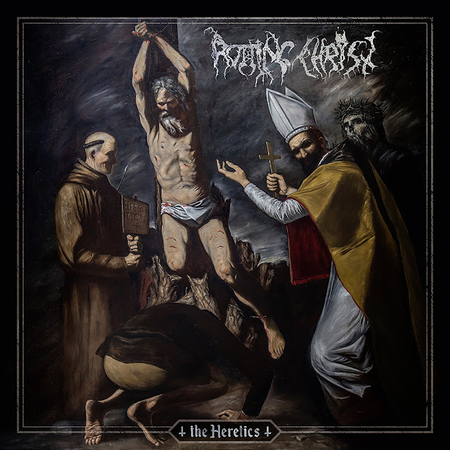 ROTTING CHRIST THE HERETICS GREEK DARK METAL GODS
