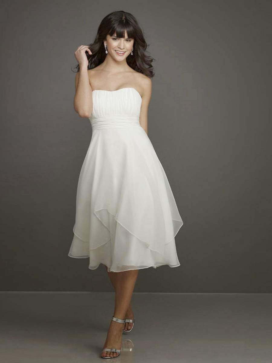 3.The Best Choice Junior White Dresses