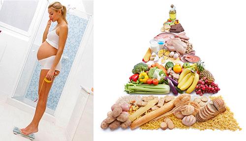 Thực đơn dinh dưỡng cho mẹ bầu béo phì-1