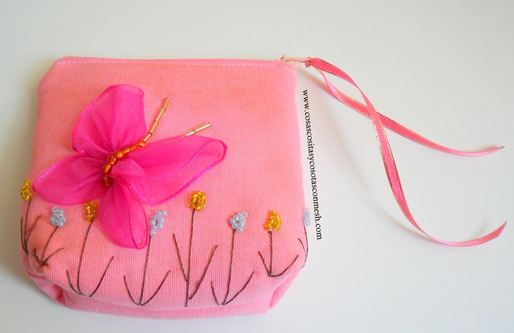 Mitad de precio mejores marcas fabricación hábil con tus propias manos: monedero de mariposa