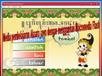 Media Interaktif Pembelajaran Bahasa Jawa mengenal Aksara Jawa dan cara penulisannya