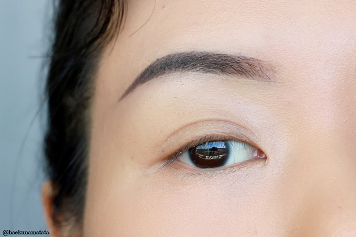 Eyebrow Tutorial: No Brows to Full Brows