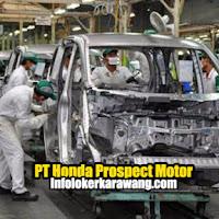 Lowongan Kerja PT Honda Prospect Motor (HPM) Karawang