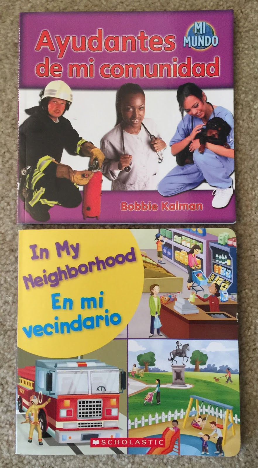 learning bilingually community helpers unit in spanish