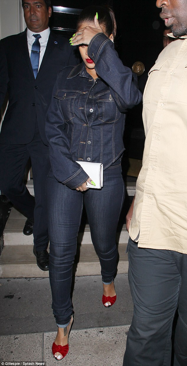 Rihanna denim