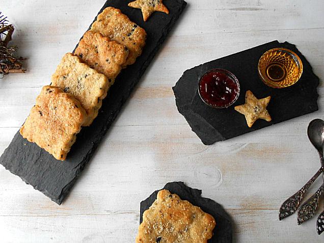 receita de tostas de parmesao azeitonas