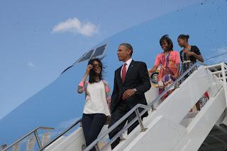 Malia, Sasha, Michelle, Barack, Obama, Africa, Tanzania, Kenya