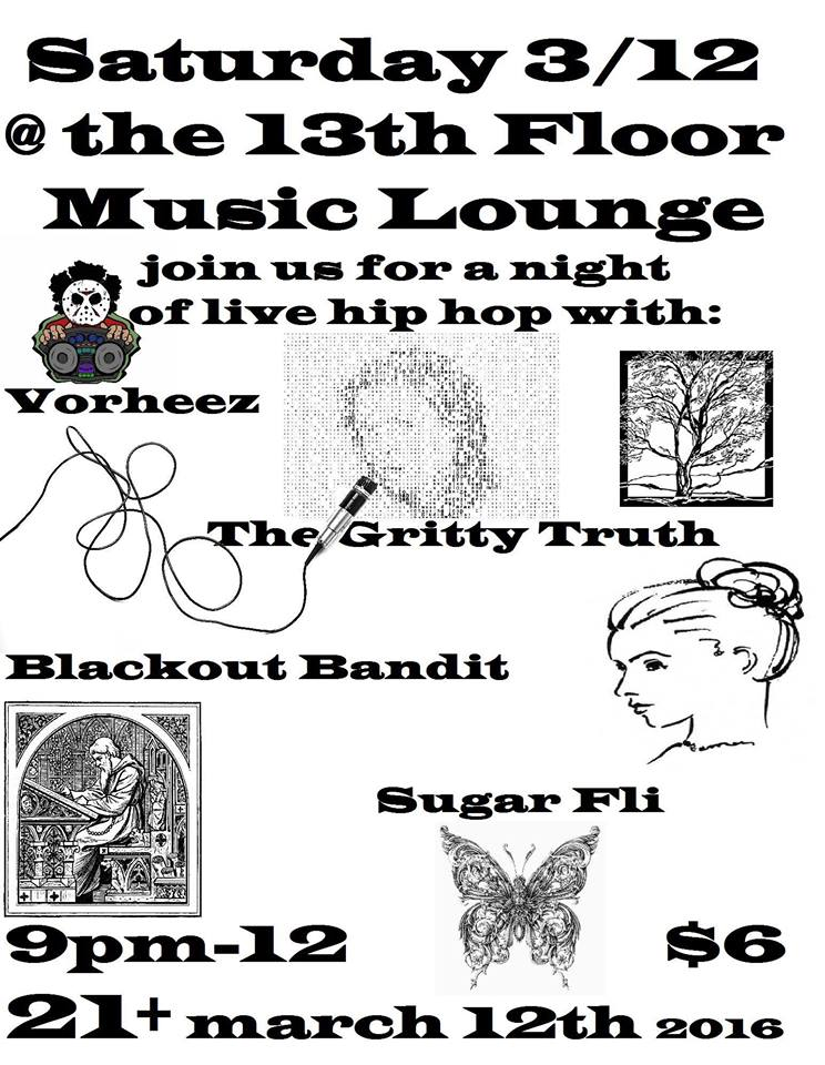 13th floor music lounge saturday march 12th for 13th floor blackout
