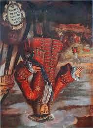 Felipe V al revés (Xàtiva)
