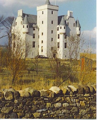 hoteles embrujados Leslie Castle