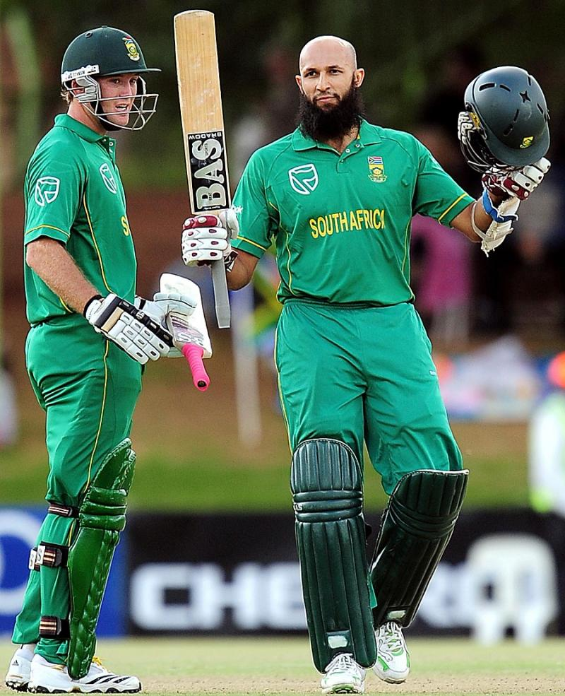 Best Sports Photos Of 2012: Top Sports Players: Hashim Amla Biography And Images-Photos