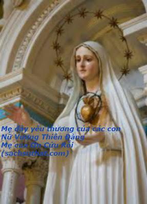 Lưu ý: Lời Mẹ Maria Tình Thương nhắn gửi những ai lâu năm xa Chúa