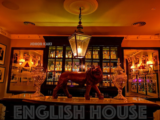 The English House Restaurant by Marco Pierre White in Singapore
