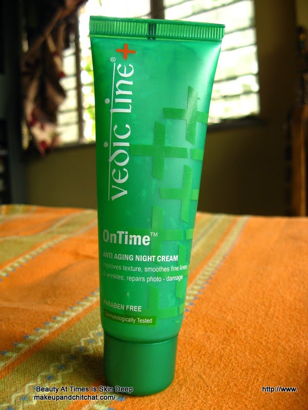 Vedic Line OnTime Antiaging night cream photo and review