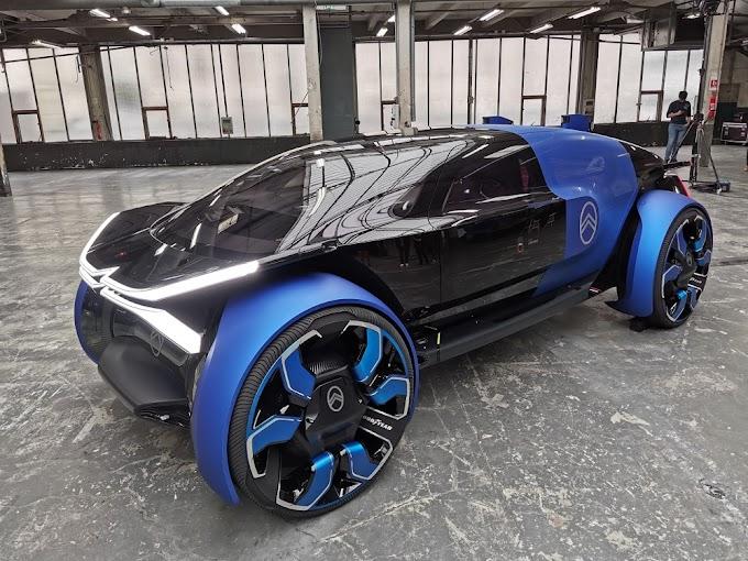 Citroen unveils amazing electric car!