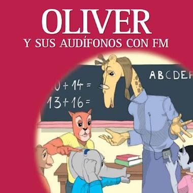 Óliver y sus audífonos con FM
