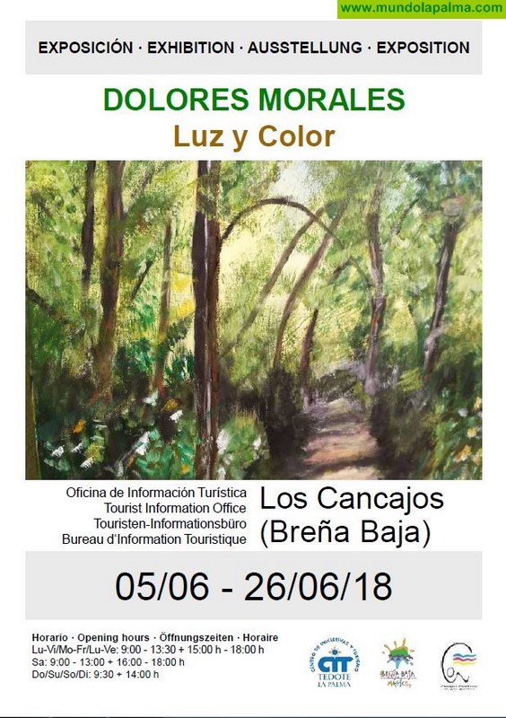 "DOLORES MORALES: Expo ""Luz y Color"""