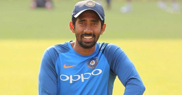 IND vs AFG: के टेस्ट मैच में नहीं खेलेंगे साहा, जाने कौन से खिलाडी को टीम में मिली जगह