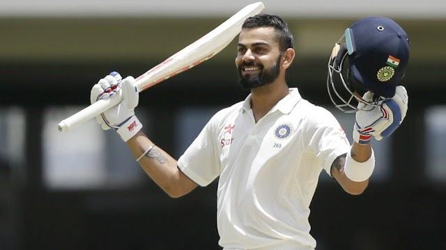 कोहली का दोहरा शतक - एंटीगुआ टेस्ट में भारत मजबूत स्थिति में