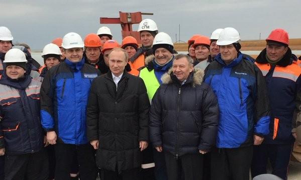 ЄС запровадив санкції проти російських компаній за будівництво Керченського моста