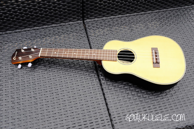 Clearwater roundback concert ukulele