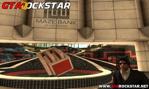 Mod Maze Bank Convertido do GTA V para GTA San Andreas